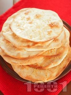 Лаваш (плоски арменски питки с просо) - снимка на рецептата